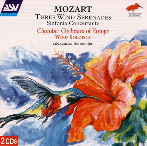 Mozart three wind serenades sinfonia concertante for Chamber orchestra of europe