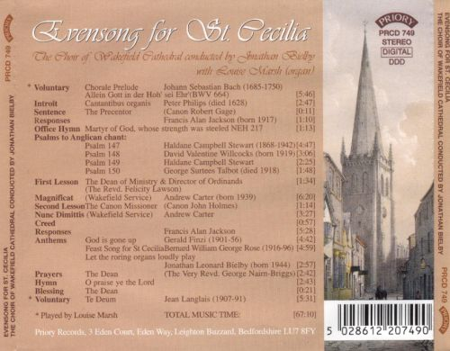Evensong for St. Cecilia