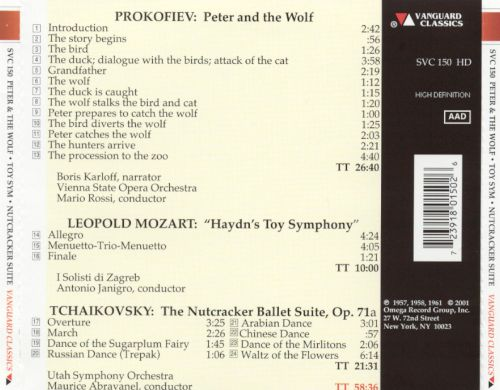 Peter and the Wolf-Toy Symphony-Nutcracker Suite