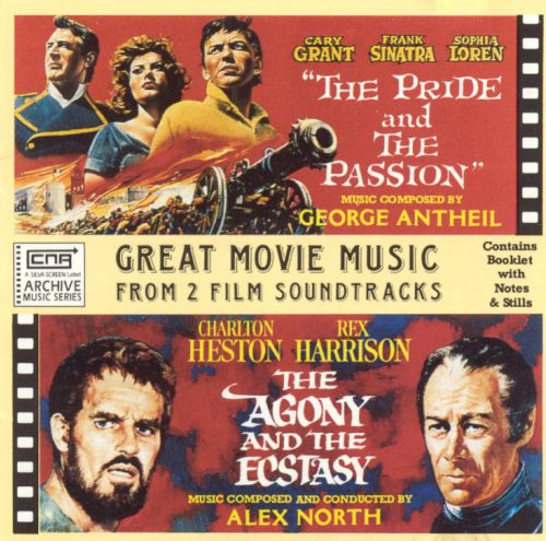 Great Movie Music from Two Film Soundtracks: The Pride and the Passion / The Agony and the Ecstasy