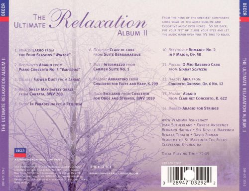 The Ultimate Relaxation Album, Vol. 2