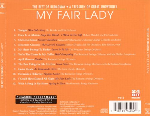 The Best of Broadway: My Fair Lady