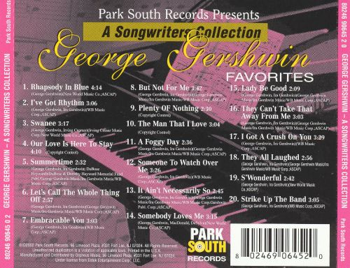 a review of george gershwins hits collection the ultimate collection About escape with 'relaxation - the ultimate piano chillout album', classic fm's superb collection of the most soothing, chilled out piano pieces, on 3 cds.