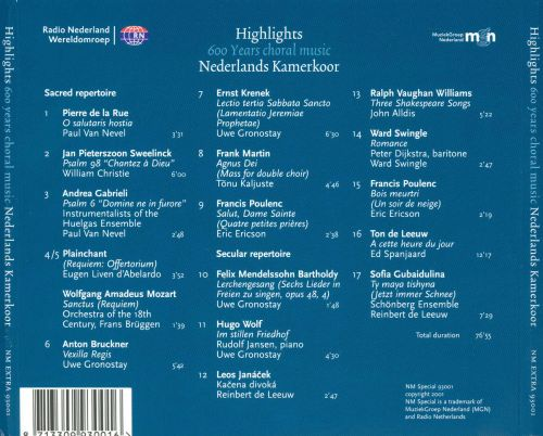 Highlights: 600 Years Choral Music