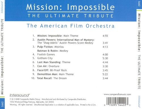Mission Impossible and Other Hollywood Hits