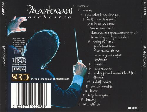 Mantovani Orchestra [Quality Entertainment]