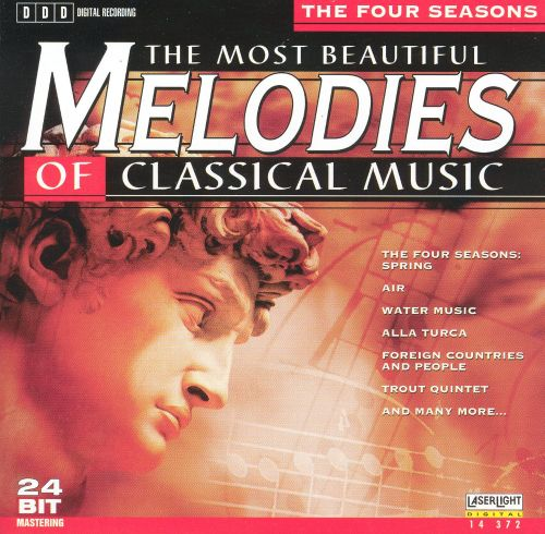 The Most Beautiful Melodies of Classical Music: The Four Seasons