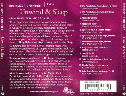 Brainwave Symphony: Delta - Unwind & Sleep