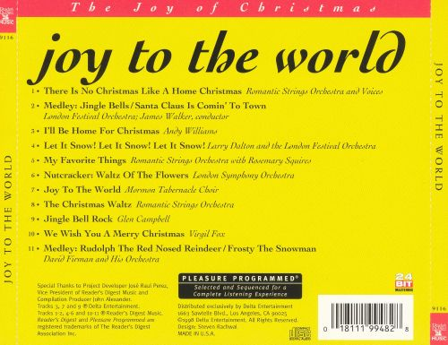 Joy to the World [Reader's Digest]