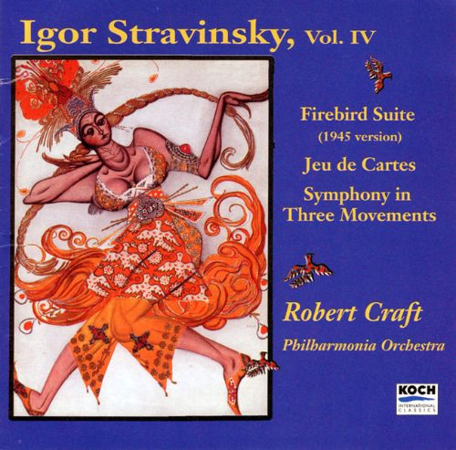 igor stravinsky firebird suite jeu de cartes symphony. Black Bedroom Furniture Sets. Home Design Ideas
