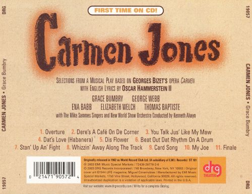 Carmen Jones (Studio Cast Recording) (Highlights)