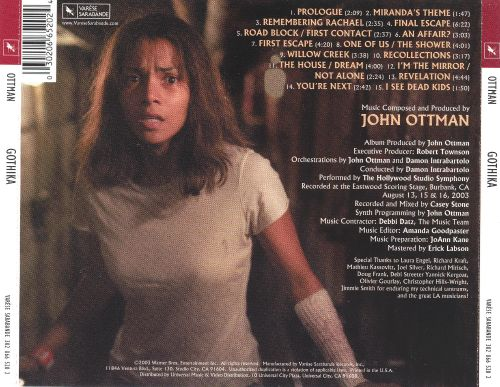 Gothika [Original Motion Picture Soundtrack]