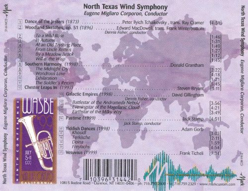 WASBE '99: The North Texas Wind Symphony