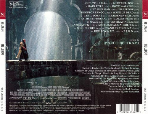 Hellboy [Original Motion Picture Soundtrack]