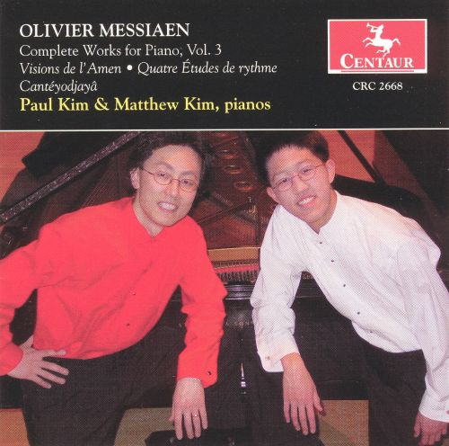 Olivier Messiaen: Complete Works for Piano, Vol. 3