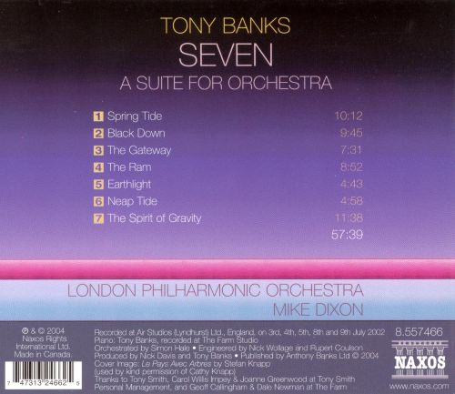 Tony Banks: Seven (A Suite for Orchestra)