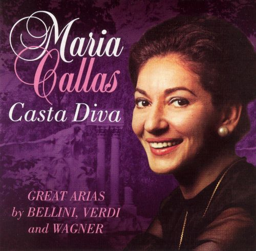 Casta diva great arias by bellini verdi and wagner maria callas songs reviews credits - Callas casta diva ...