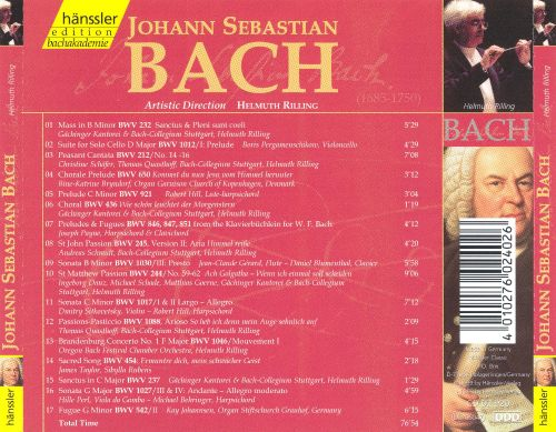 an introduction to the life and music by johann sebastian bach Johann sebastian bach news and everything wolff knows about bach's life the music of johann sebastian bach will be featured at an organ and.