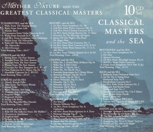 Classical Masters and the Sea