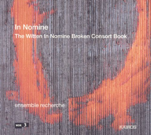In Nomine: The Witten in Nomine Broken Consort Book