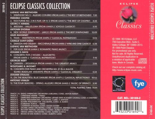 Eclipse Classics Collection
