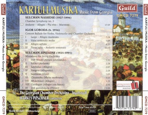 Kartuli Musika: Music for Georgy
