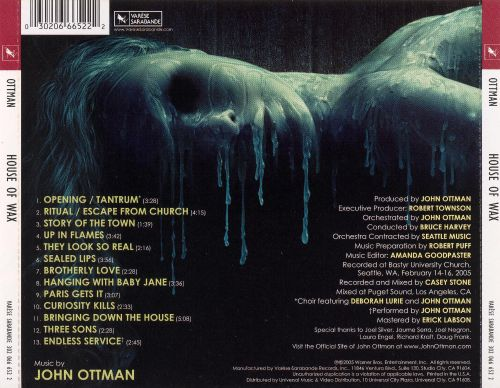 House of Wax [Original Motion Picture Soundtrack]