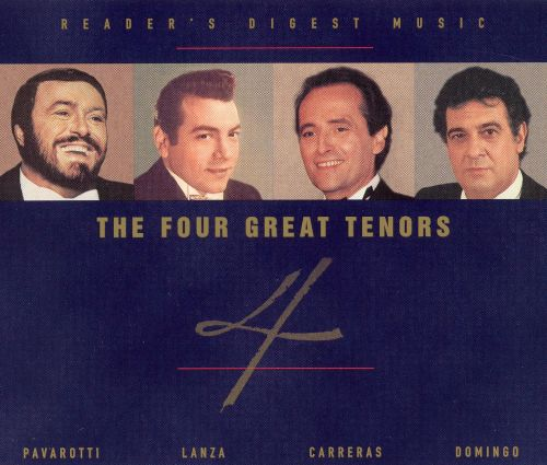 The Four Great Tenors
