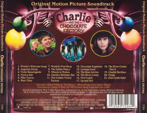 Charlie and the Chocolate Factory [Original Motion Picture Soundtrack]