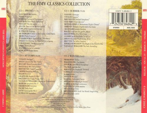 The HMV Classics Collection: Spring, Summer, Autumn, Winter