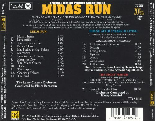 Midas Run / The House [Original Motion Picture Soundtracks]
