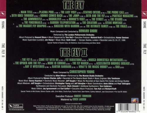The Fly/The Fly II [Original Motion Picture Soundtracks]