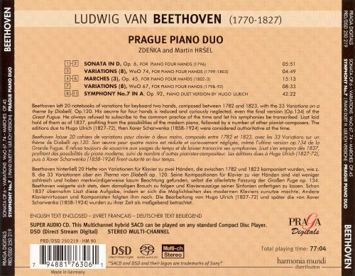 Beethoven: Works for Piano Duet; Symphony No. 7