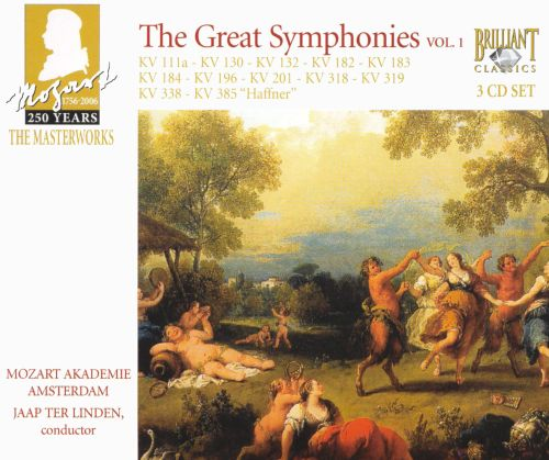 Mozart: The Great Symphonies, Vol. 1