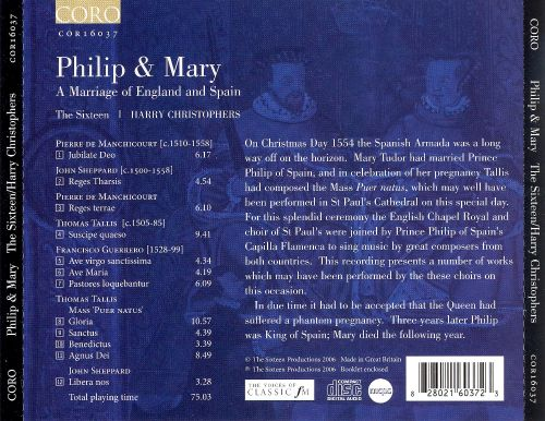Philip & Mary: A Marriage of England & Spain