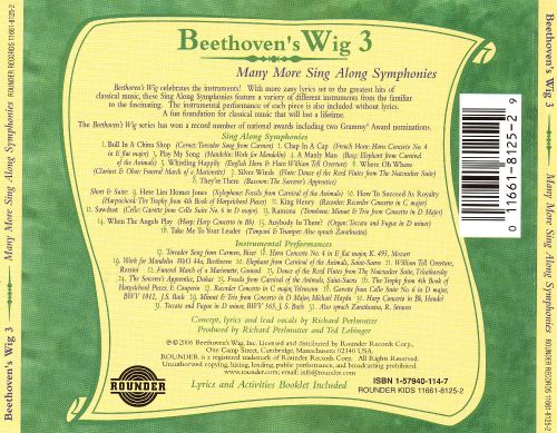Beethoven's Wig, Vol. 3: Many More Sing-Along Symphonies