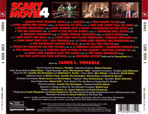 scary movie 4 original motion picture soundtrack james