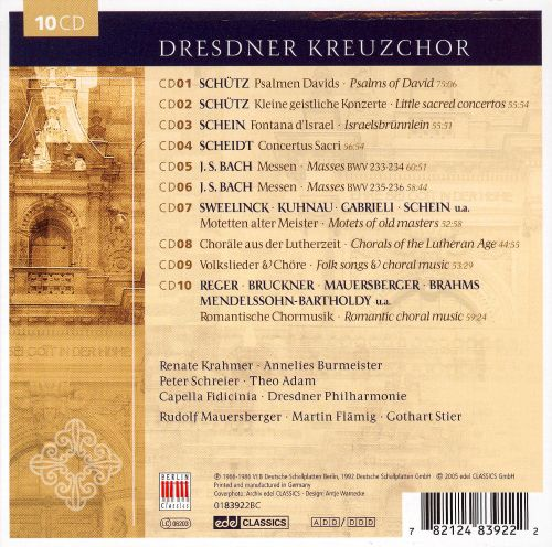 Dresdner Kreuzchor: Legendary [Box Set]
