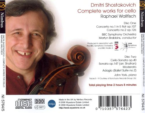 Shostakovich: Complete Works for Cello
