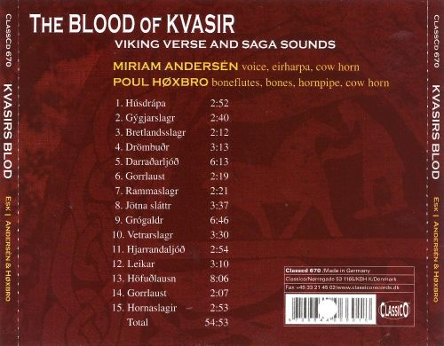 Kvasirs Blod (The Blood of Kvasir)