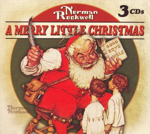 Norman Rockwell: A Merry Little Christmas