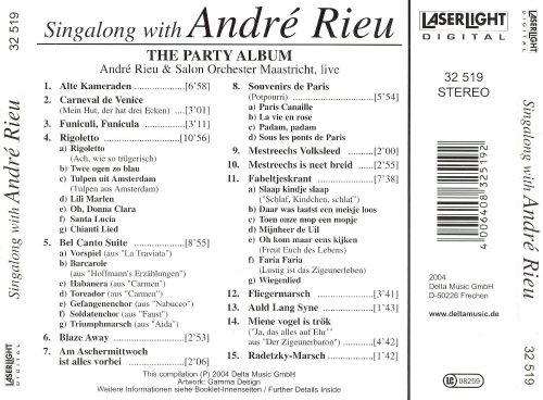 Singalong with André Rieu (The Party Album)