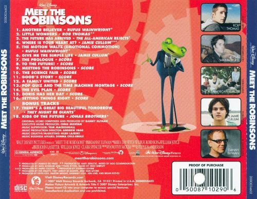 meet the robinsons game soundtrack download