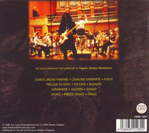 Yngwie Johann Malmsteen: Concerto Suite for Electric Guitar and Orchestra in E flat Minor, Op. 1