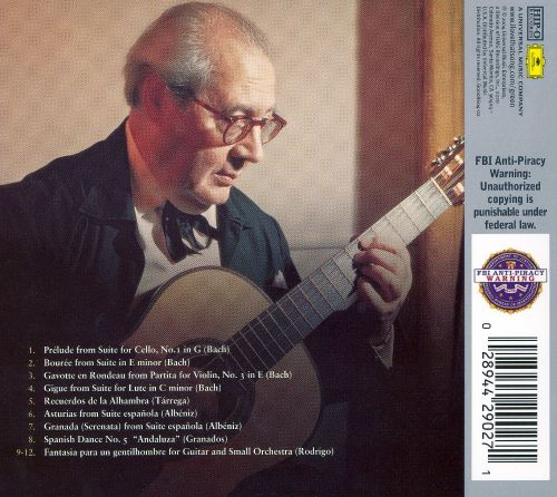 The Best of Andrés Segovia /// Guitar Masterpieces for ...
