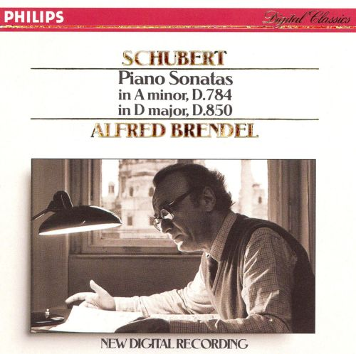 Schubert: Piano Sonatas in A minor and D major, D784 & D850