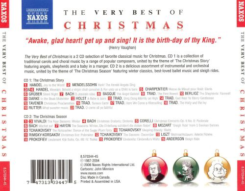 The Very Best of Christmas [Naxos]