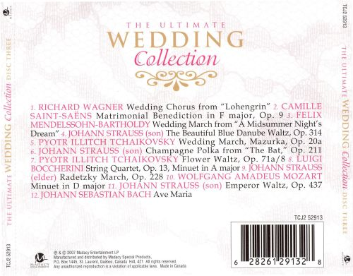 The Ultimate Wedding Collection, Disc 3