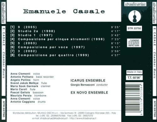 Emanuele Casale: Chamber Music