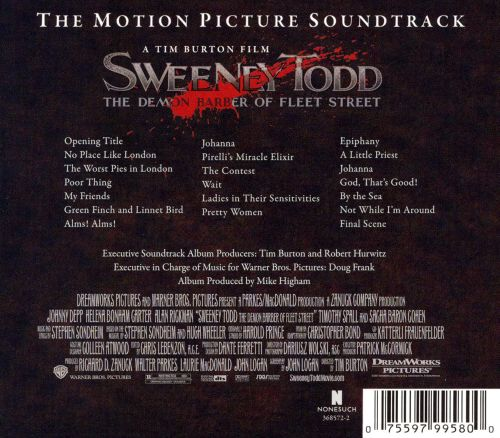 Sweeney Todd [The Motion Picture Soundtrack]
